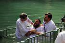 Baptised in the Jordan river #5 by Moshe Cohen