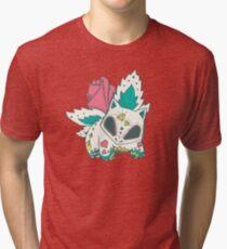 Ivysaur Pokemuerto Tri-blend T-Shirt