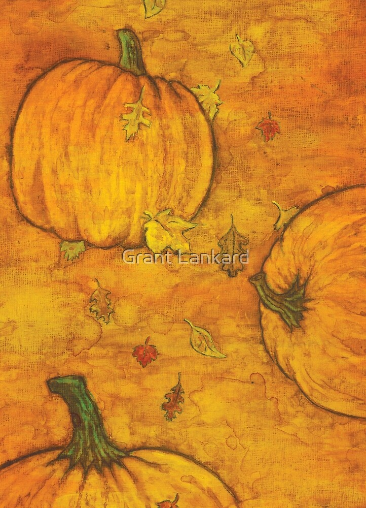 Autumn Pumpkins by Grant Lankard