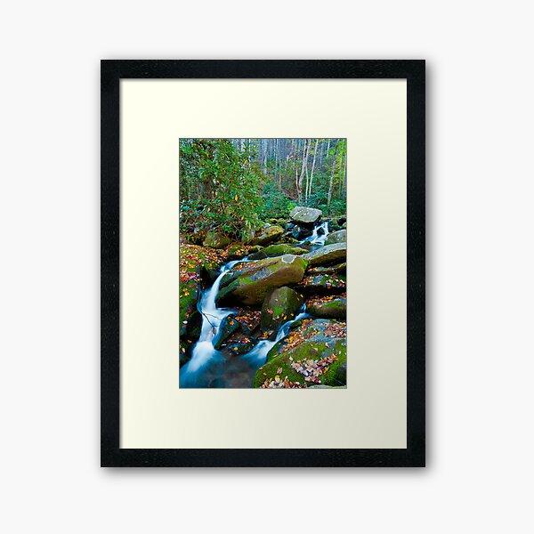 Roaring Fork, Soft Spill Framed Art Print