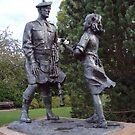 Highland Division War memorial by biddumy