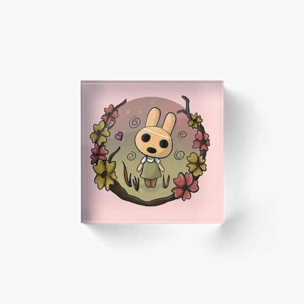 Coco from Animal Crossing Acrylic Block