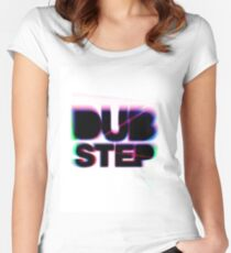 Dubstep Women's Fitted Scoop T-Shirt