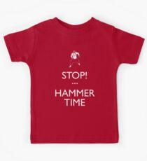 STOP! (Keep Calm)...Hammer TIme Kids Tee