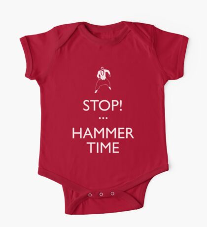 STOP! (Keep Calm)...Hammer TIme Kids Clothes