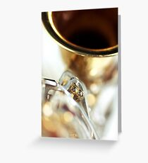 Careless whisper... Greeting Card