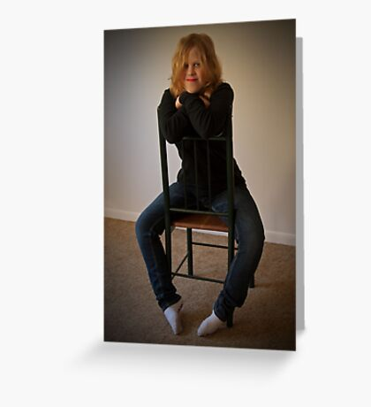 Kelly 2  Venus in Bluejeans  Greeting Card