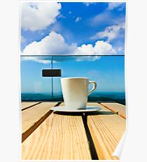 Coffee in the Sky Poster