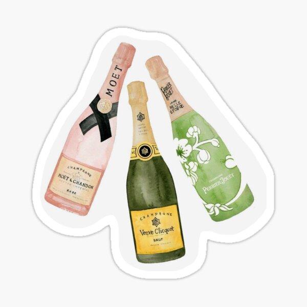 Bouteille de champagne Sticker