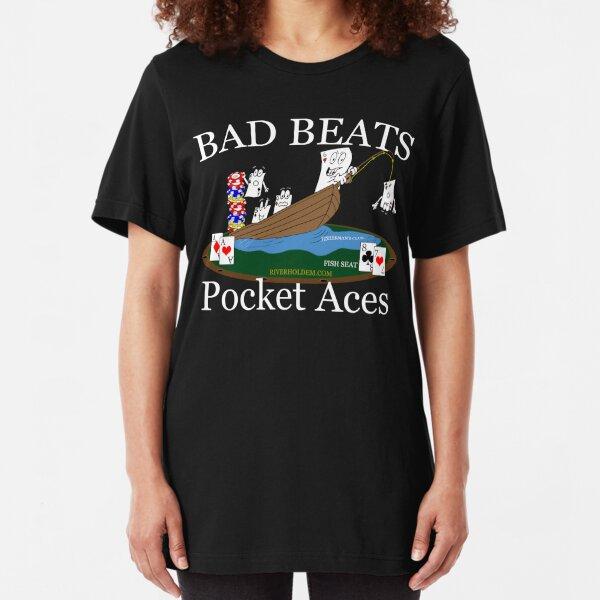 Bad Beats Fisherman's Club Slim Fit T-Shirt