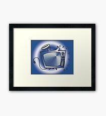 Happy Tv Framed Print