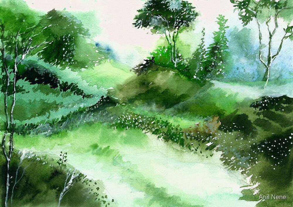 Morning Walk 1 by Anil Nene