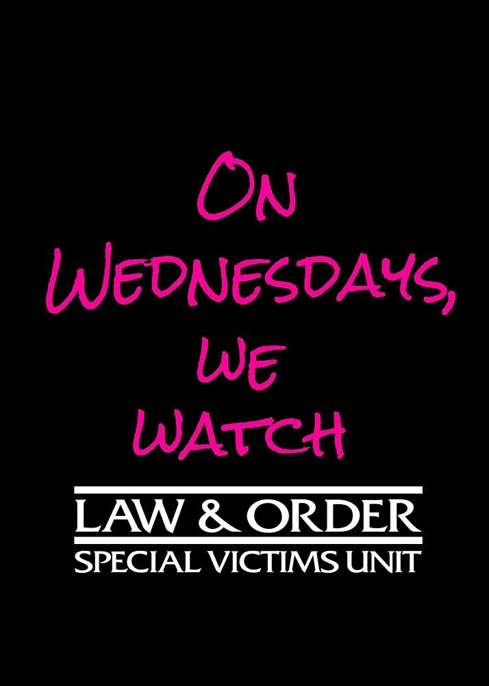 On Wednesdays, We Watch SVU. by RileyMorgan