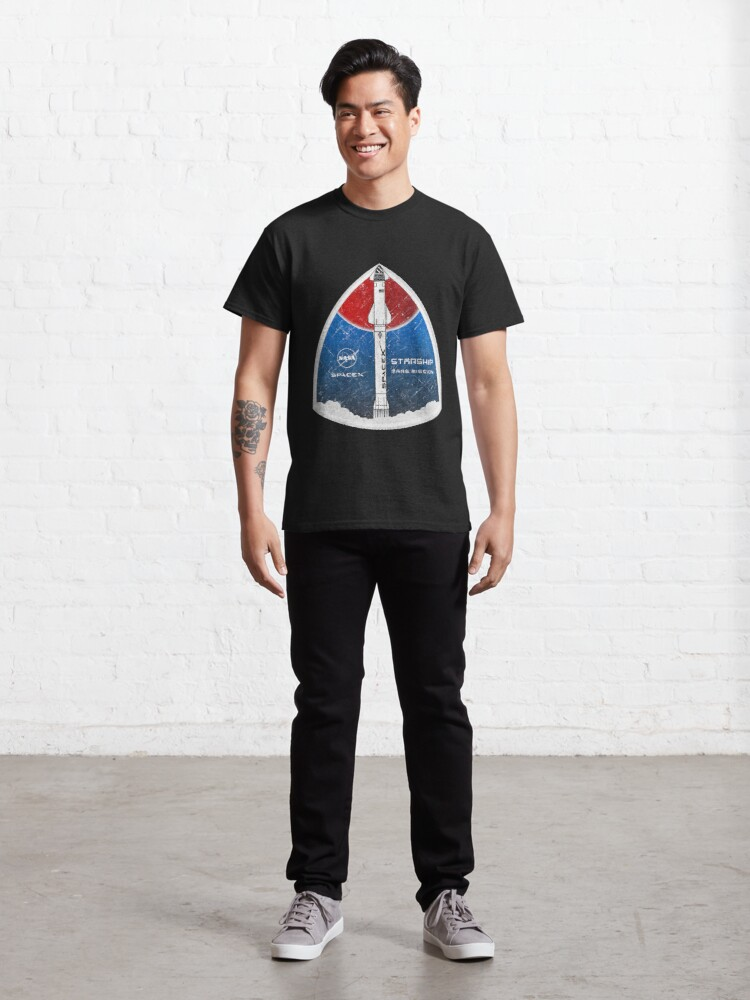 Alternate view of Starship: Mars Mission Classic T-Shirt