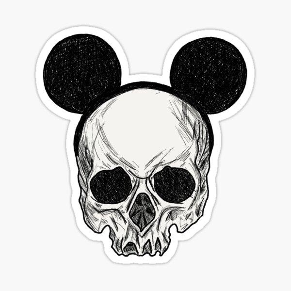 mouse skull Sticker