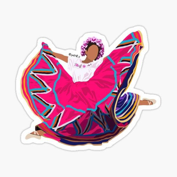 Ballet Folklorico Sticker