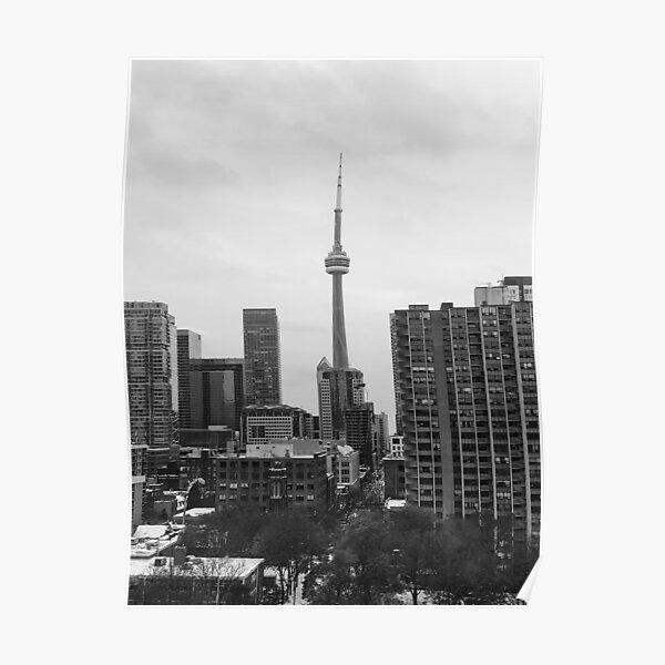 Toronto CN Tower Skyline Poster