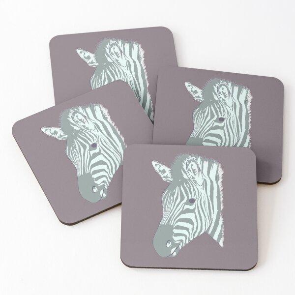 Simply Zebra Coasters (Set of 4)