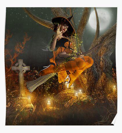 Autumn Hallowe's Eve  Poster