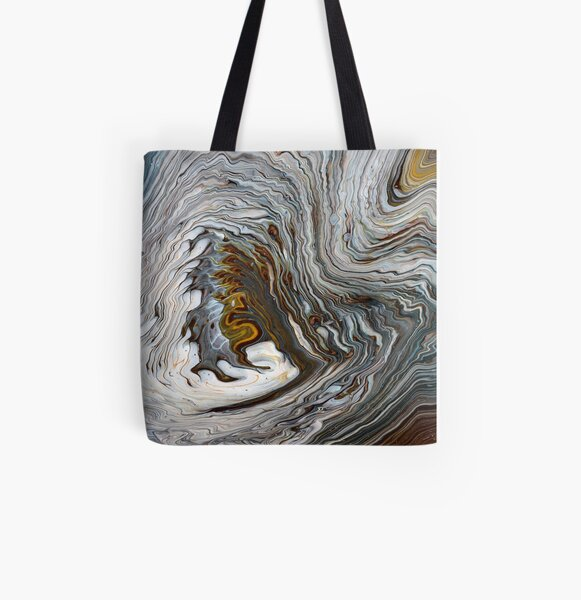Deep Discussion All Over Print Tote Bag