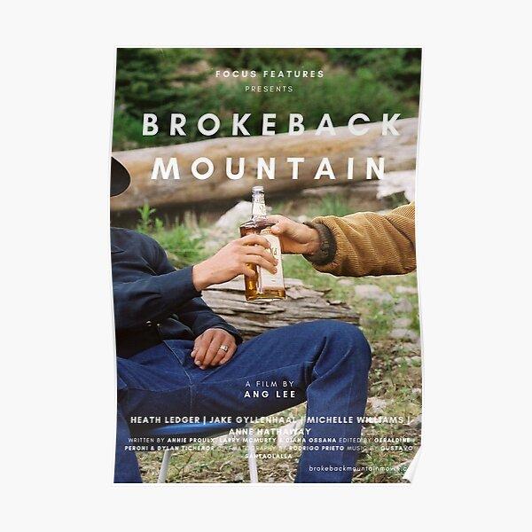 BROKEBACK MOUNTAIN BOTTLE POSTER Poster