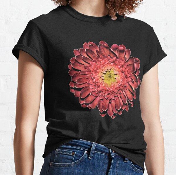 Red Gerbera Daisy Classic T-Shirt
