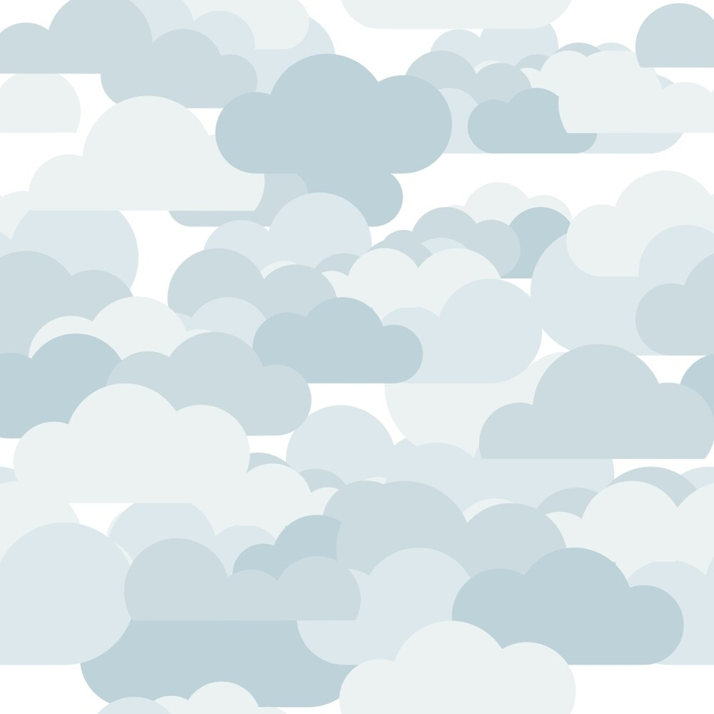 Pale blue clouds by Madchenfranson