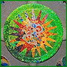 Gaudi Detail Green by Nigel Fletcher-Jones