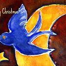 blue bird by agnès trachet