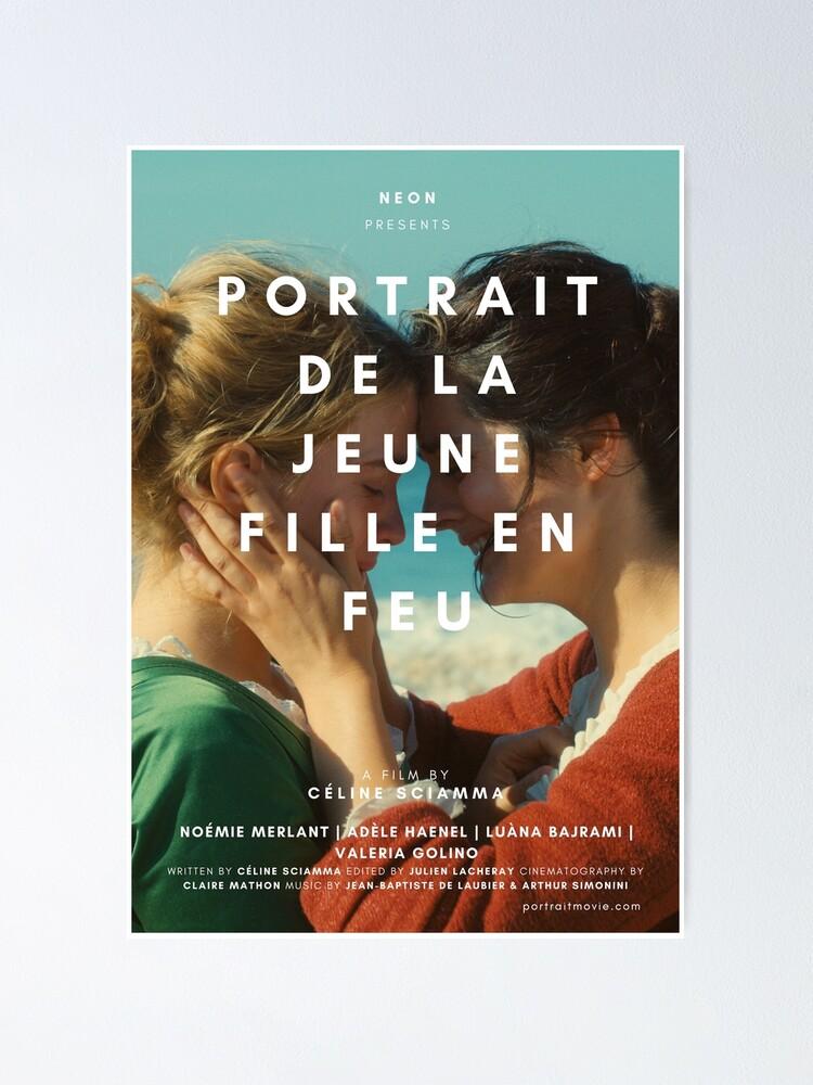 Alternate view of PORTRAIT DE LA JEUNE FILLE EN FEU Poster