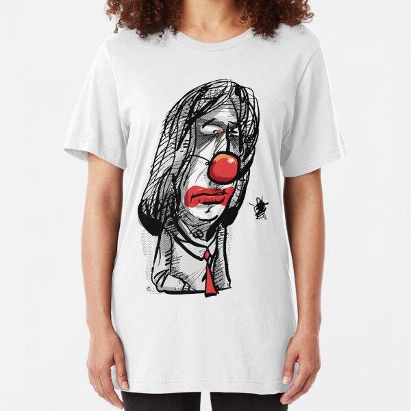 Friedrich, sad clown Slim Fit T-Shirt