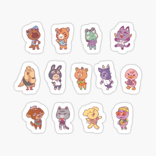 Animal Crossing Seventeen Sticker