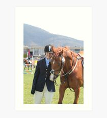 My Pony Calendar 2012 - Royal Hobart Show 2011 Art Print