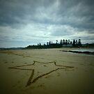 Star - Toowoon Bay Beach by Jacob Jackson