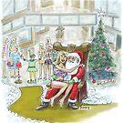 """Santas """"Helper"""" Christmas card! by weirdpuckett"""