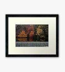 Above the Dam Framed Print