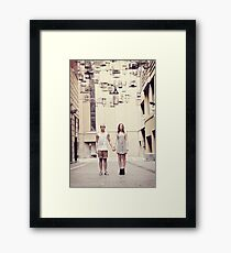 Vintage Fairytale Framed Print