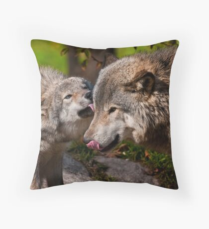 Tender Love Throw Pillow