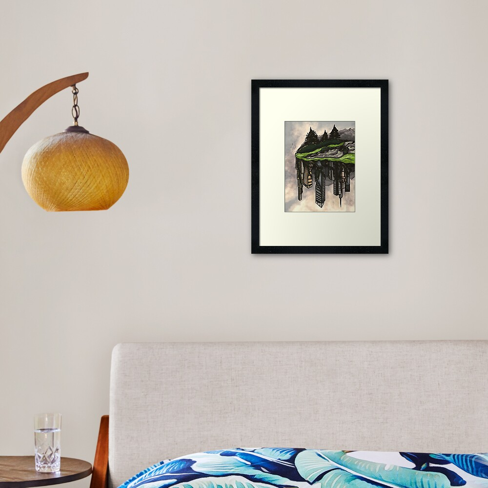 reclamation. Framed Art Print