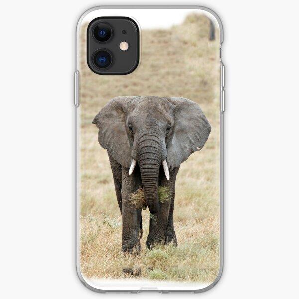 Serengeti Elephant iPhone cover iPhone Soft Case
