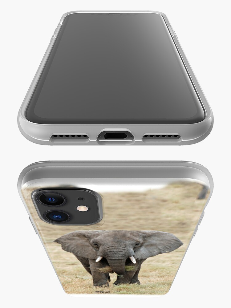 Alternate view of Serengeti Elephant iPhone cover iPhone Case & Cover
