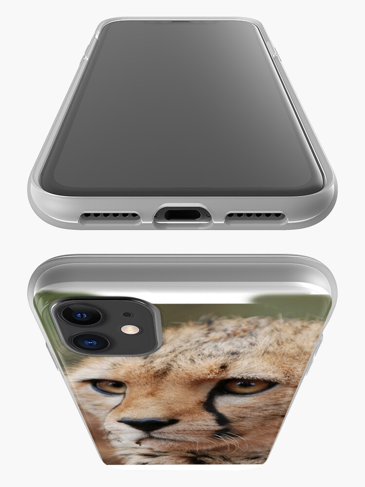 Alternate view of Cheetah Face iphone cover iPhone Case & Cover