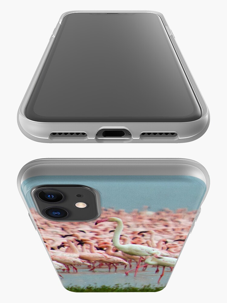 Alternate view of Flamingo iphone cover iPhone Case & Cover