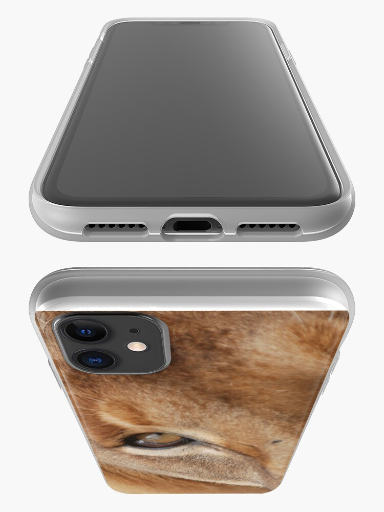 Alternate view of Lion eye iPhone cover iPhone Case & Cover
