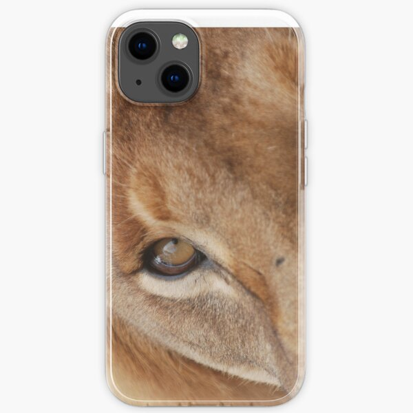 Lion eye iPhone cover iPhone Soft Case