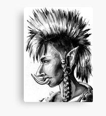 Punk Troll Canvas Print