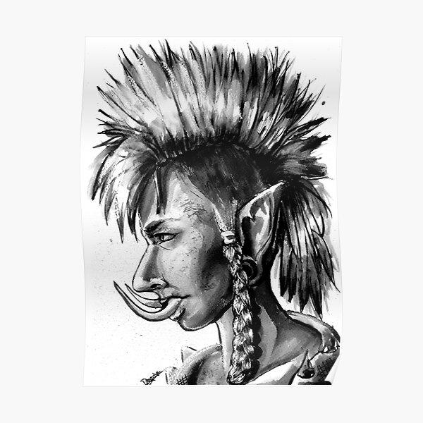 Punk Troll Poster