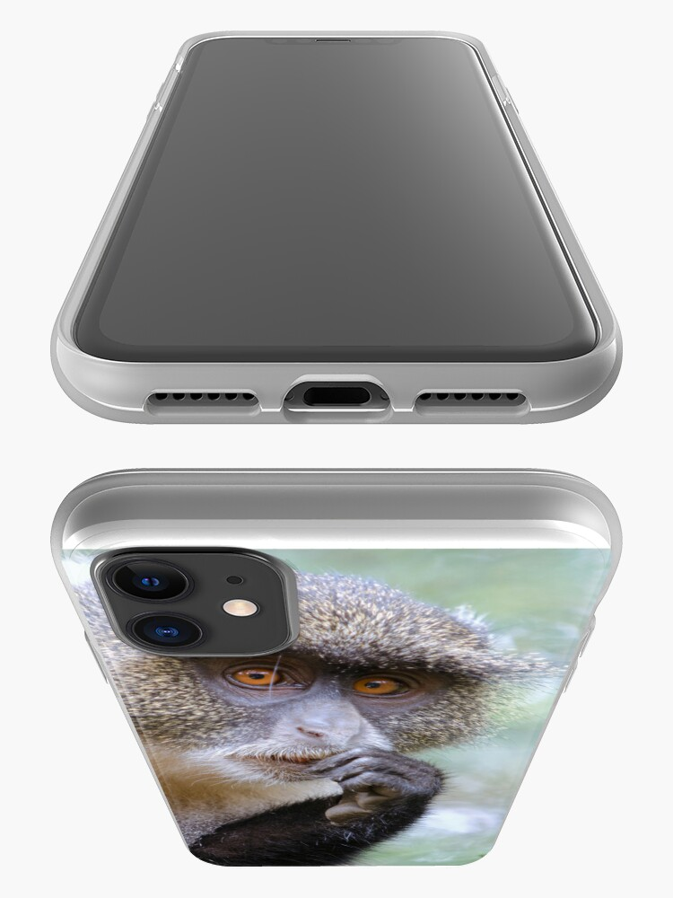 Alternate view of Sykes Monkey iPhone cover iPhone Case & Cover