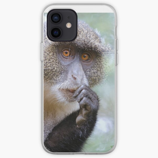 Sykes Monkey iPhone cover iPhone Soft Case