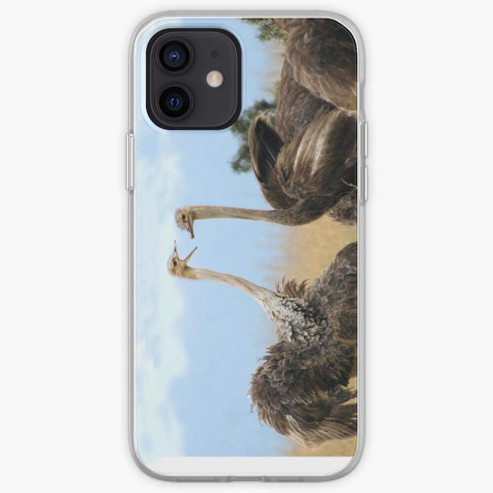 Ostrich talk - iphone cover iPhone Case & Cover